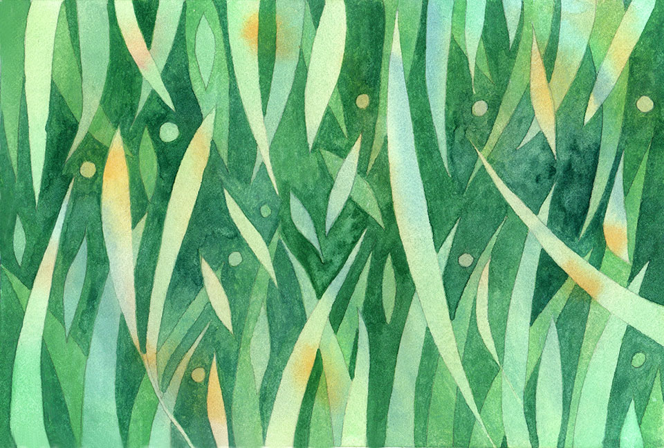 watercolor-grass-pattern-step-four