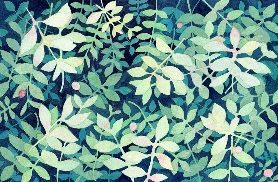 watercolor-layered-forest-foliage-pattern-one